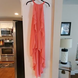 BCBG Danielle Ruffle Dress